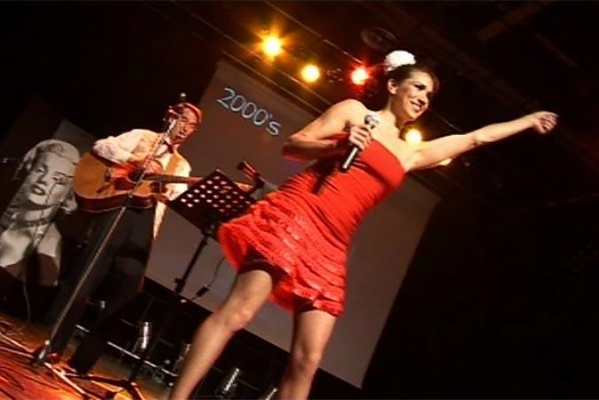 Soirée Dansante ou thé dansant avec une chanteuse ou un orchestre de variétés