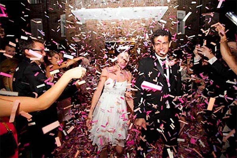mariage et cocktail avec ambiance musicale réussie