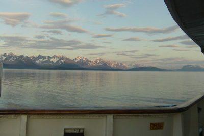 Fjord norvégien vu du pont du Princess Danae