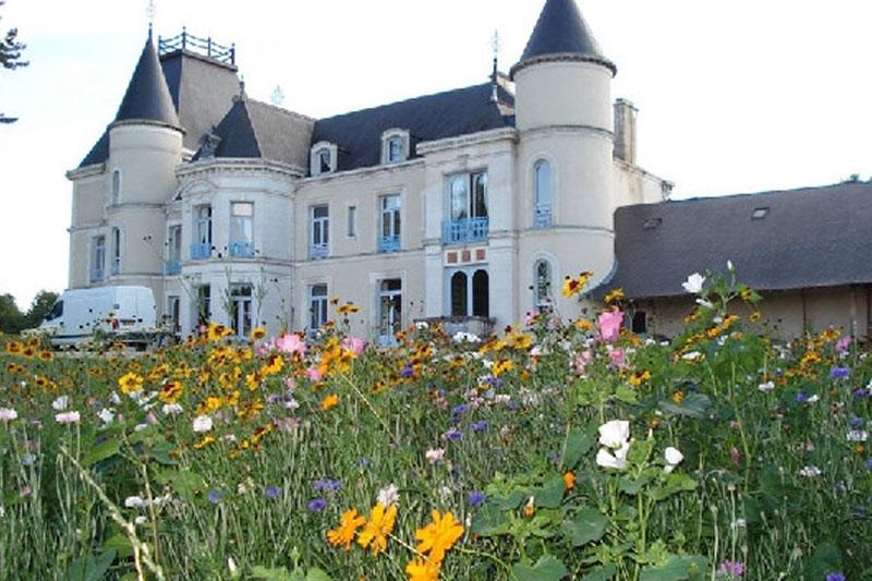 chateau de Toucy au printemps