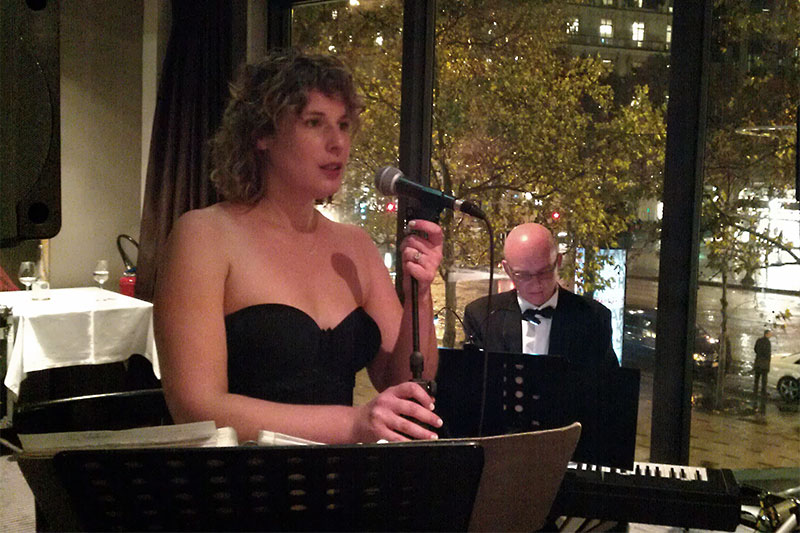 soiree cabaret sur les Champs Elysées pour l'ambassade du Danemark