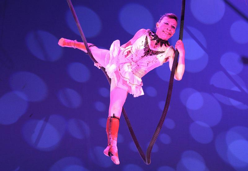 trapéziste de cirque