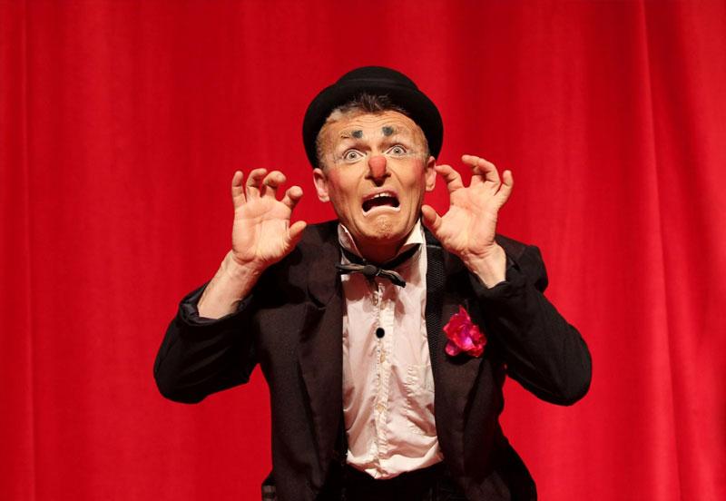 clown du cirque Star